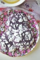Ube Crinkles Cookies