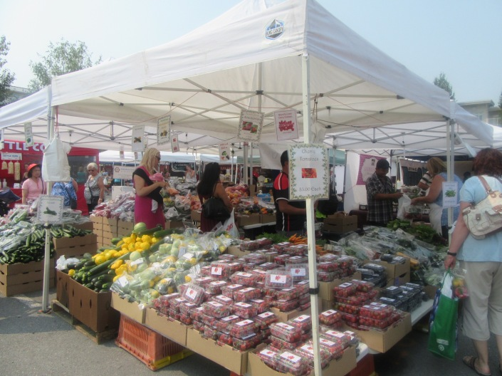Steveston Sunday Farmers Market