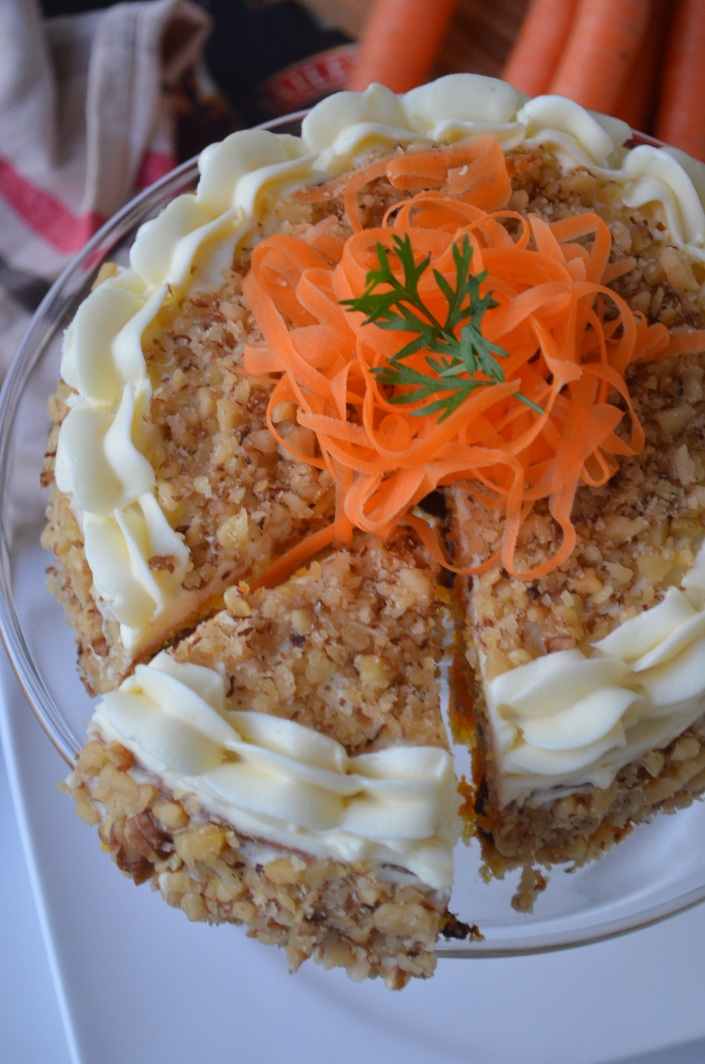 BEST Carrot Cake Recipe