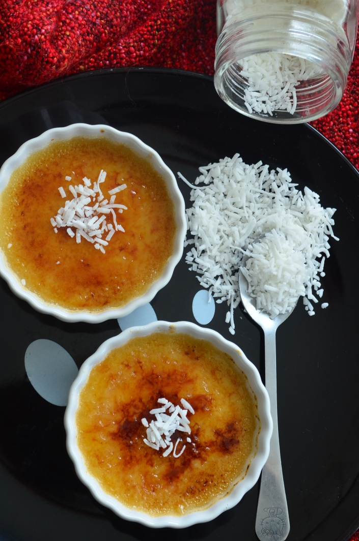 Coconut Creme Brulee Recipe