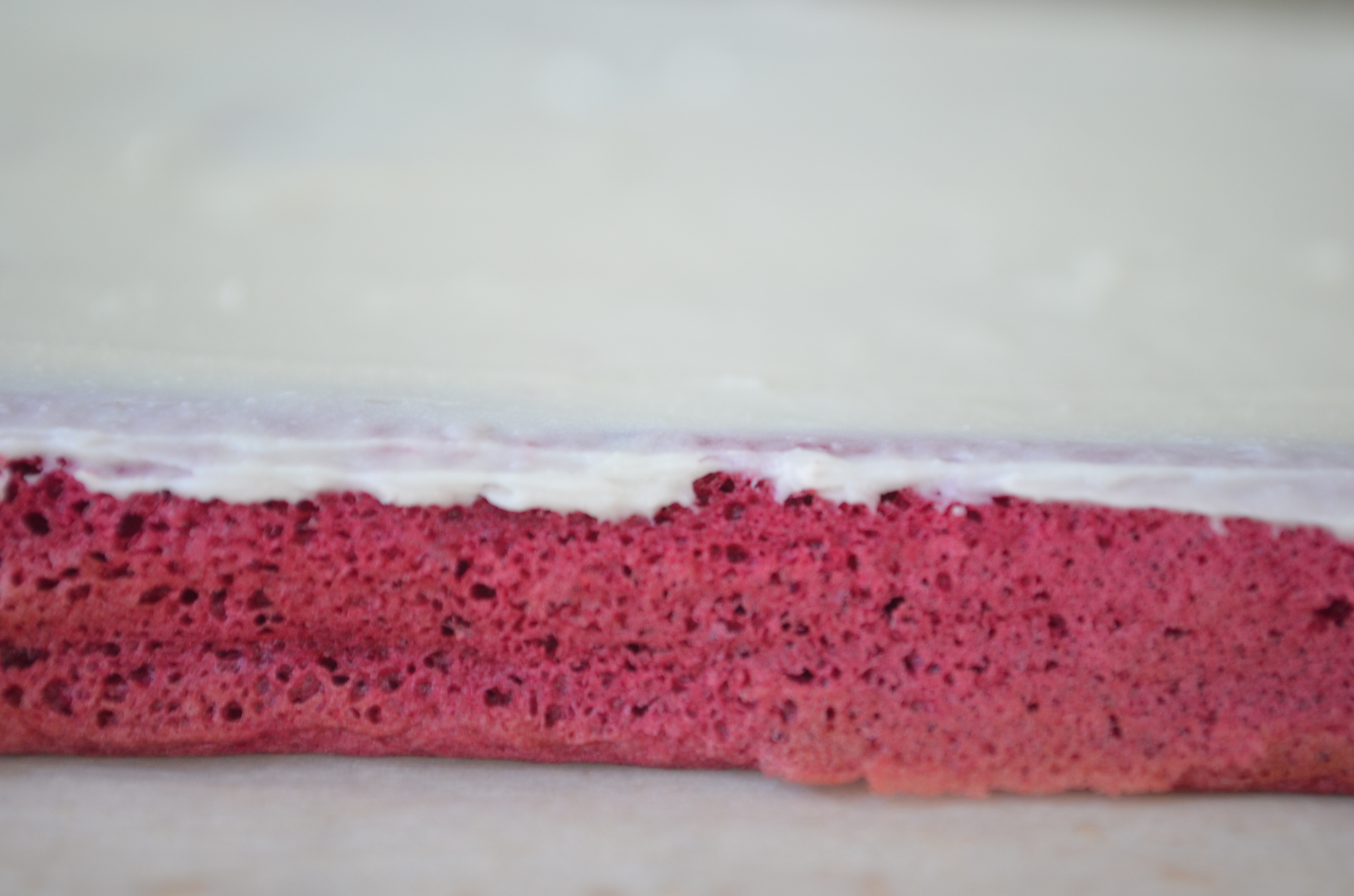 Red Velvet Swiss Roll Cake