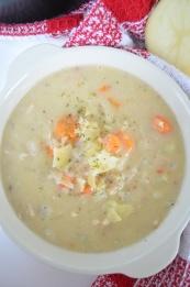 Small Batch Creamy Potato Soup