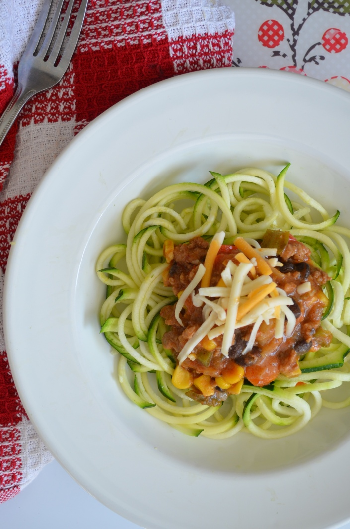 Easy Chili Zoodles Recipe