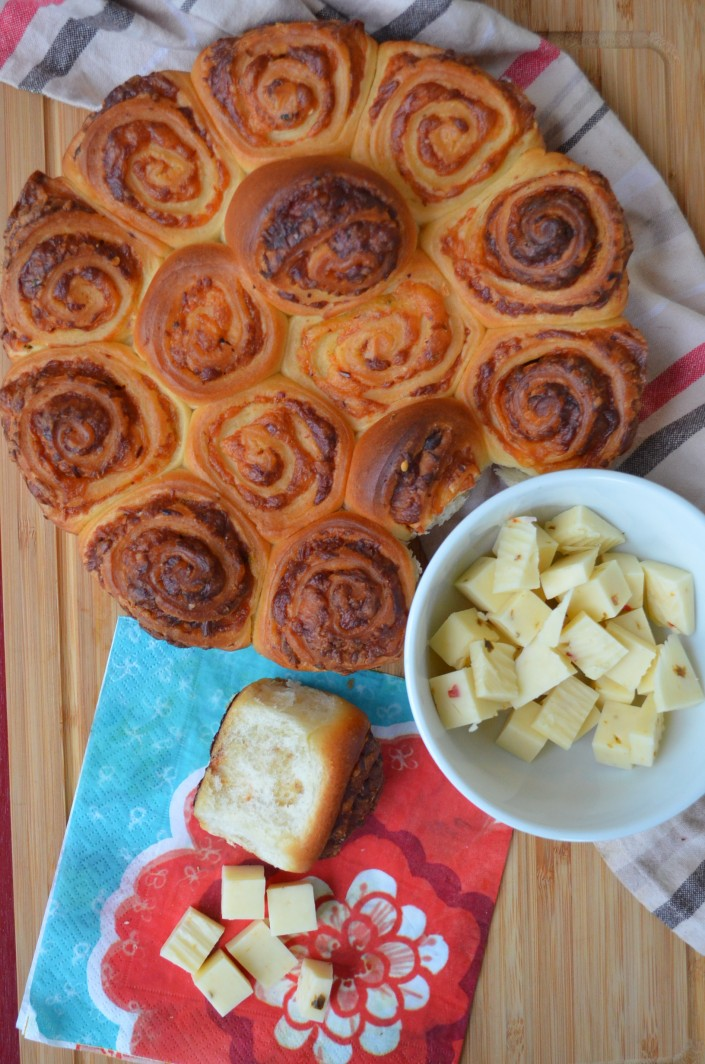 Skillet Cheese Pull-Apart