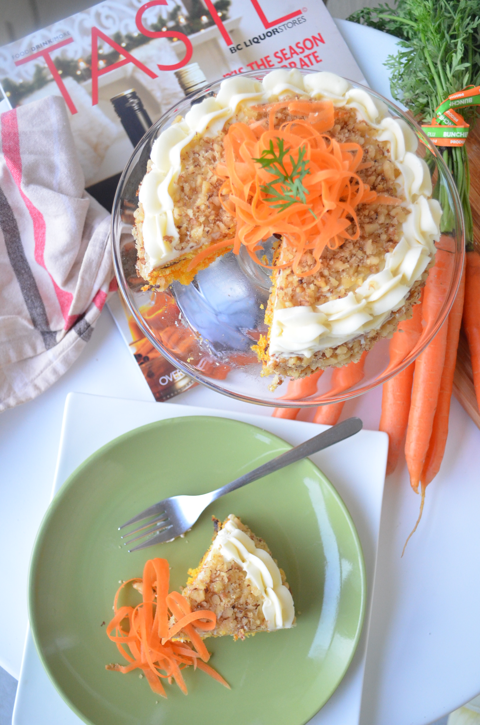 Easy Carrot Cake Recipe