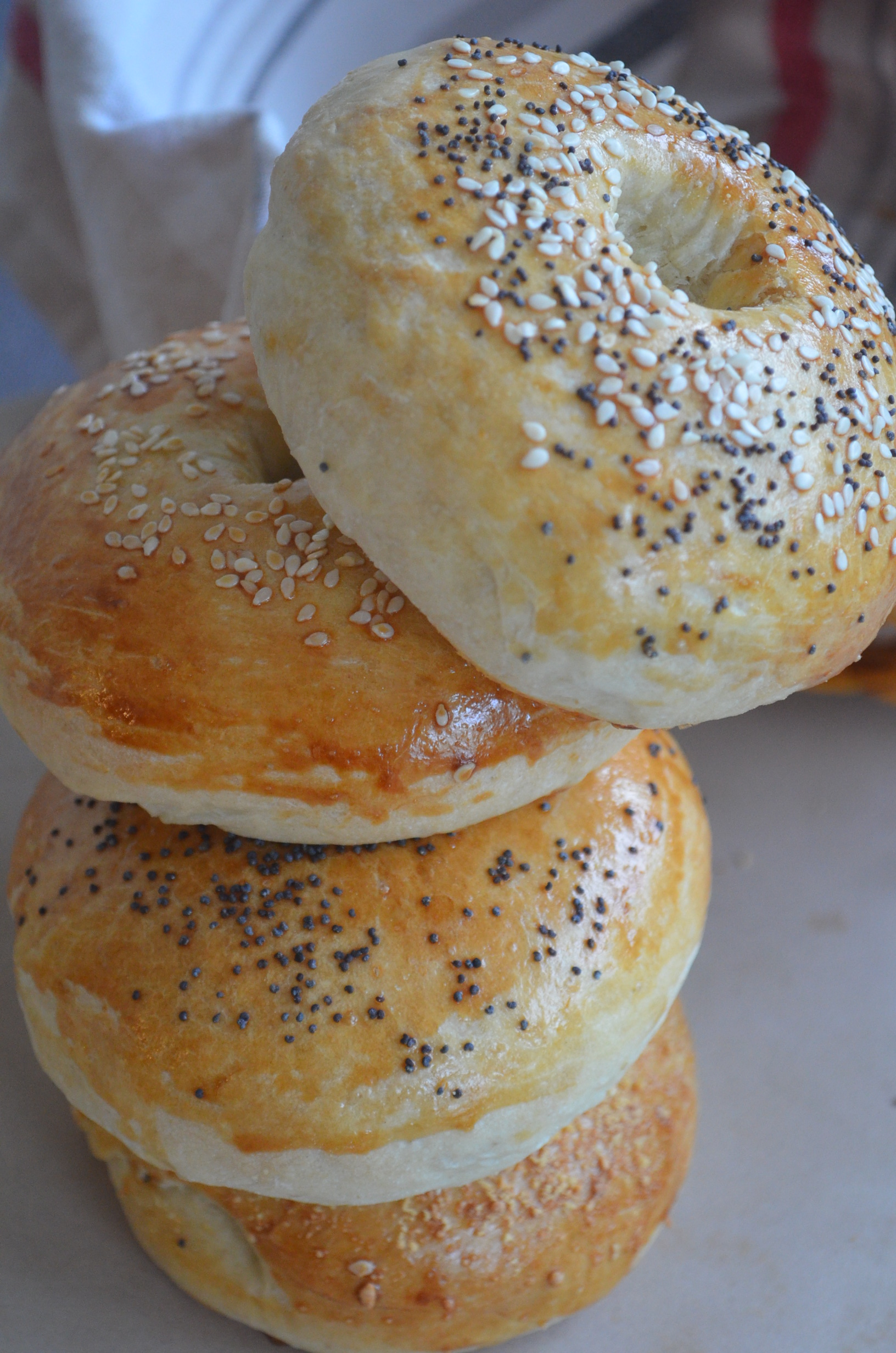 Easy Plain Bagel