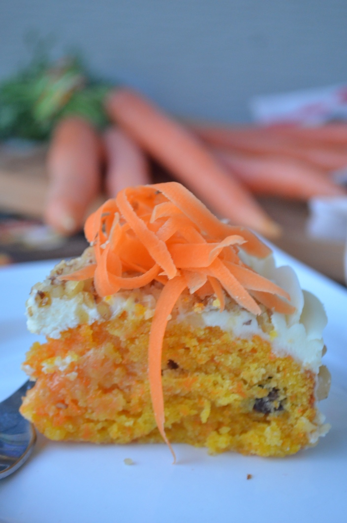 Easy Small Batch Carrot Cake