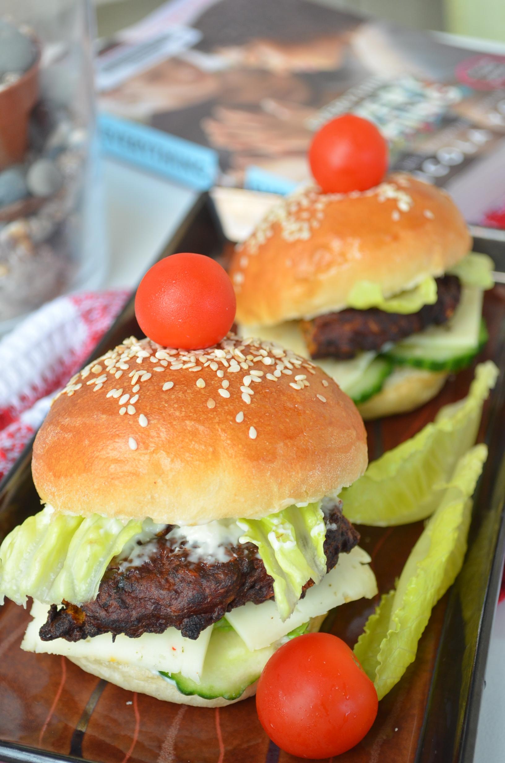 Small Batch Slider Burger Buns