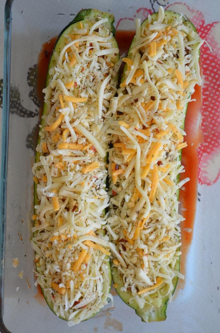 Stuffed Zucchini Boat Recipe