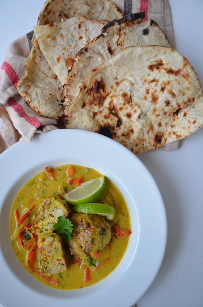 Cauliflower and Quinoa Meatballs in Coconut Milk Recipe