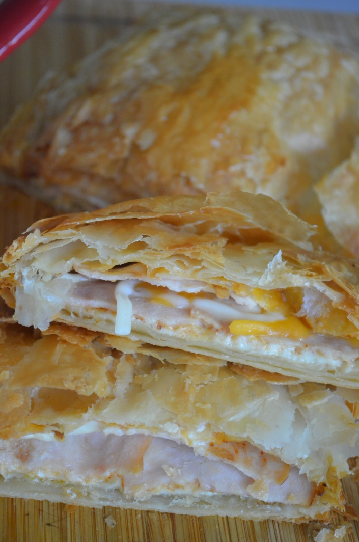Cold Cuts Puff Pastry Melt