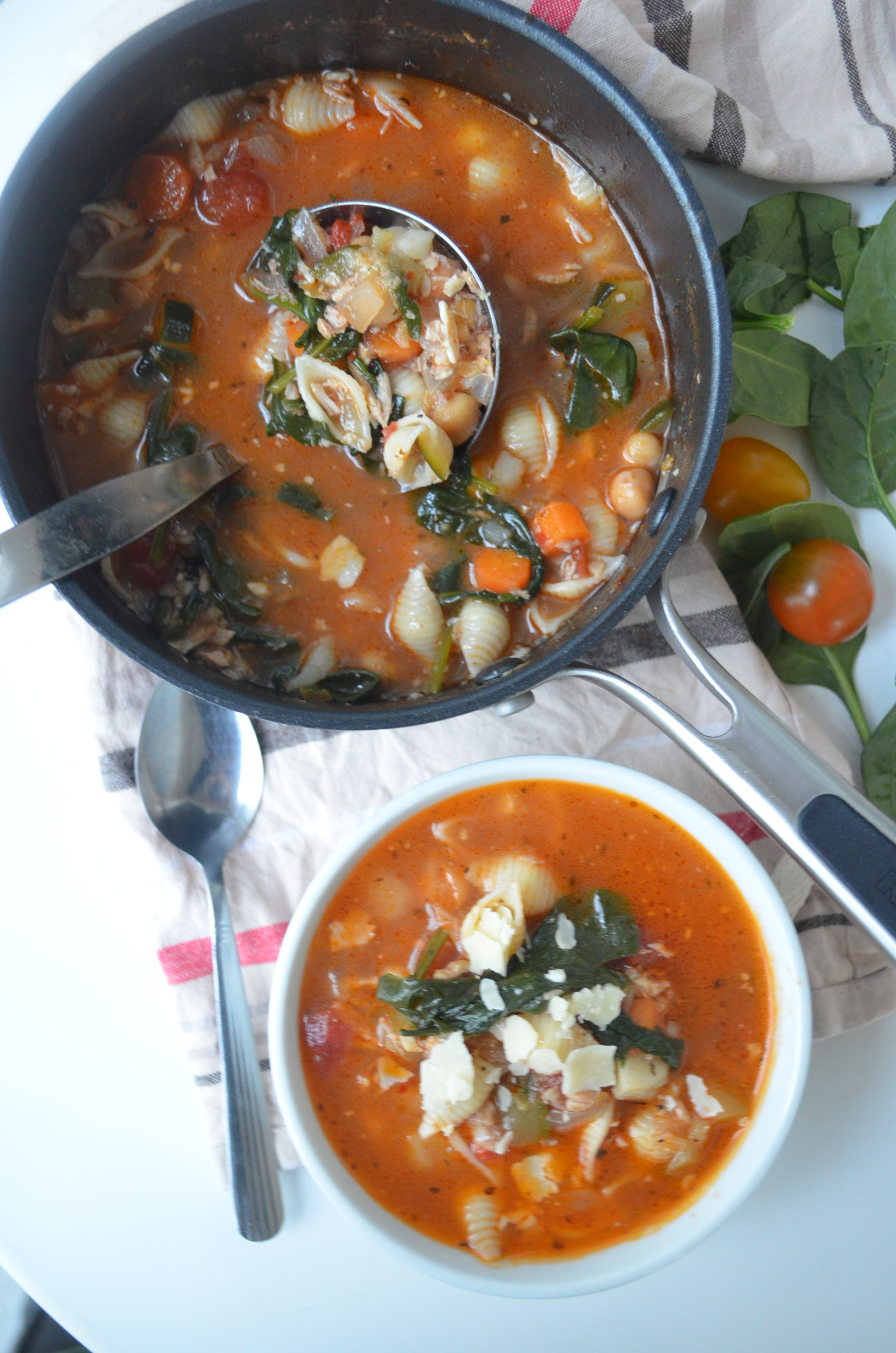 Easy Homemade Minestrone Soup