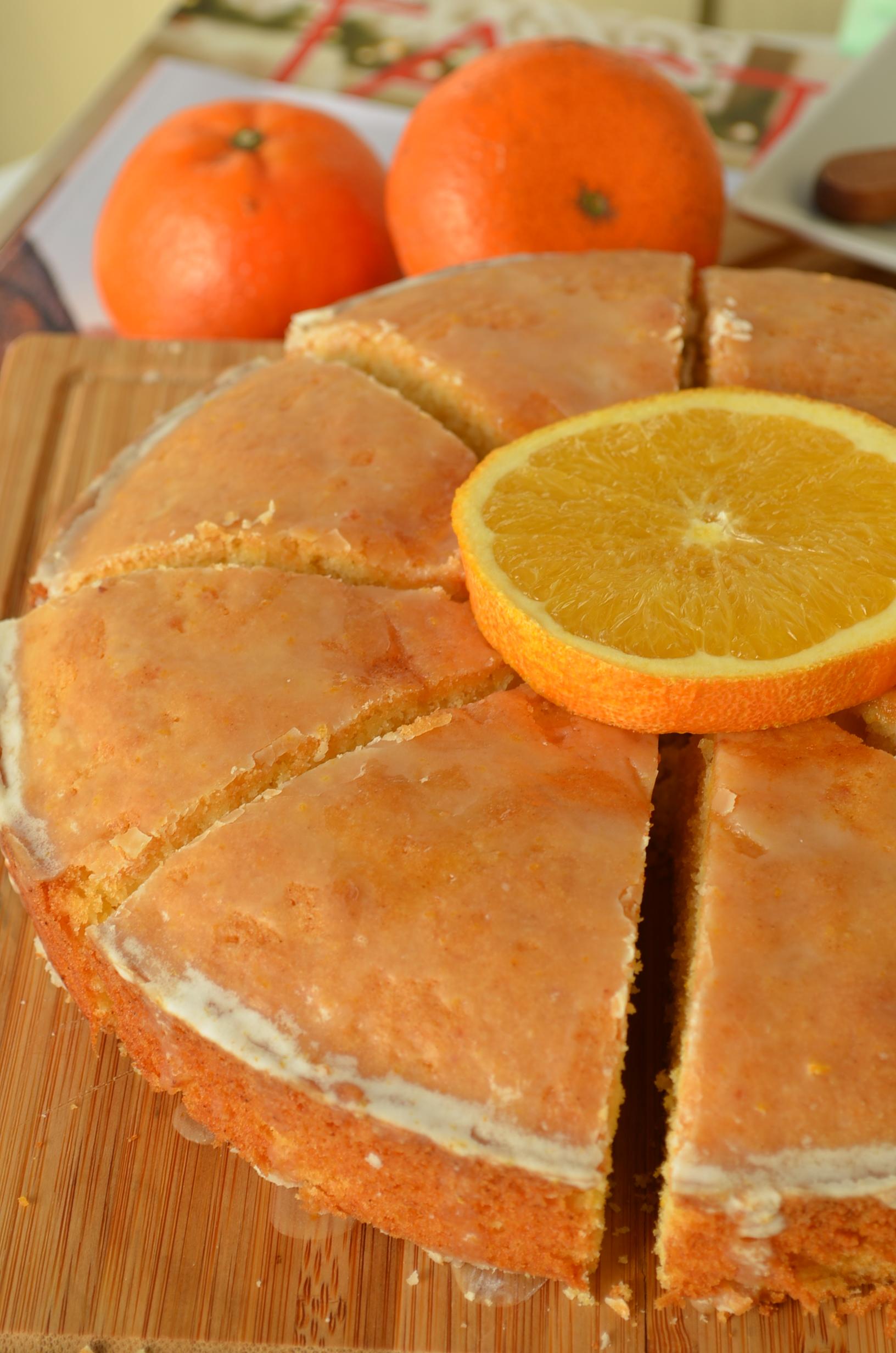 Orange Madeira Cake Recipe