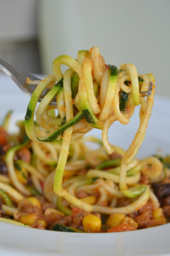 Recipe for Chili Zoodles