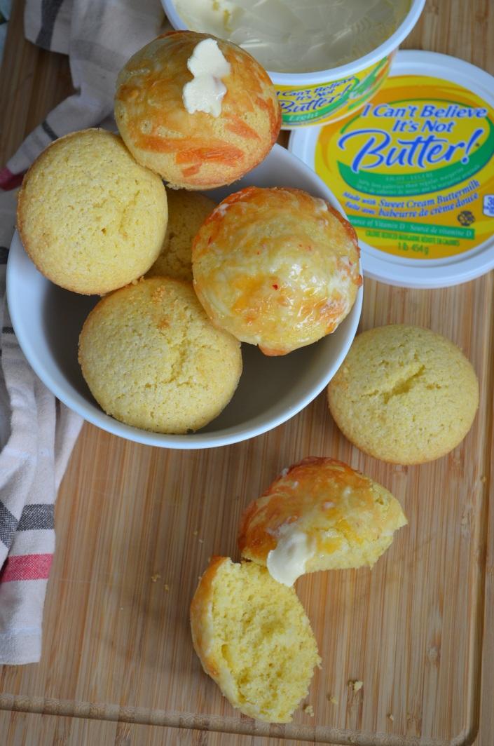 Small Batch Cornbread Muffin Recipe