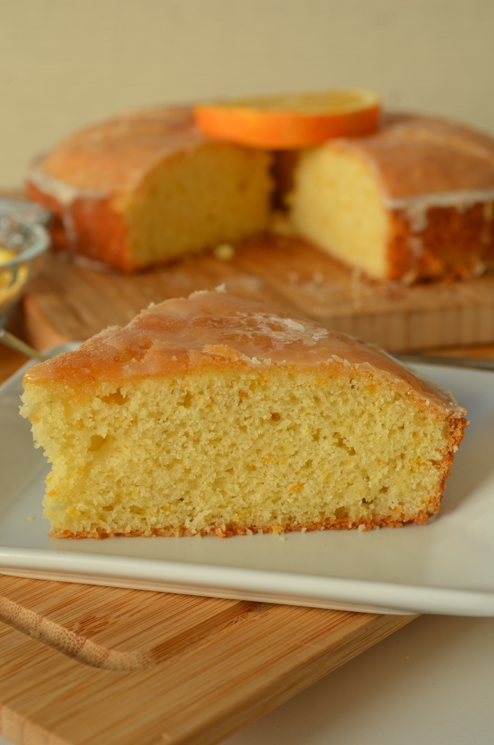 Small Batch Orange Madeira Cake Recipe