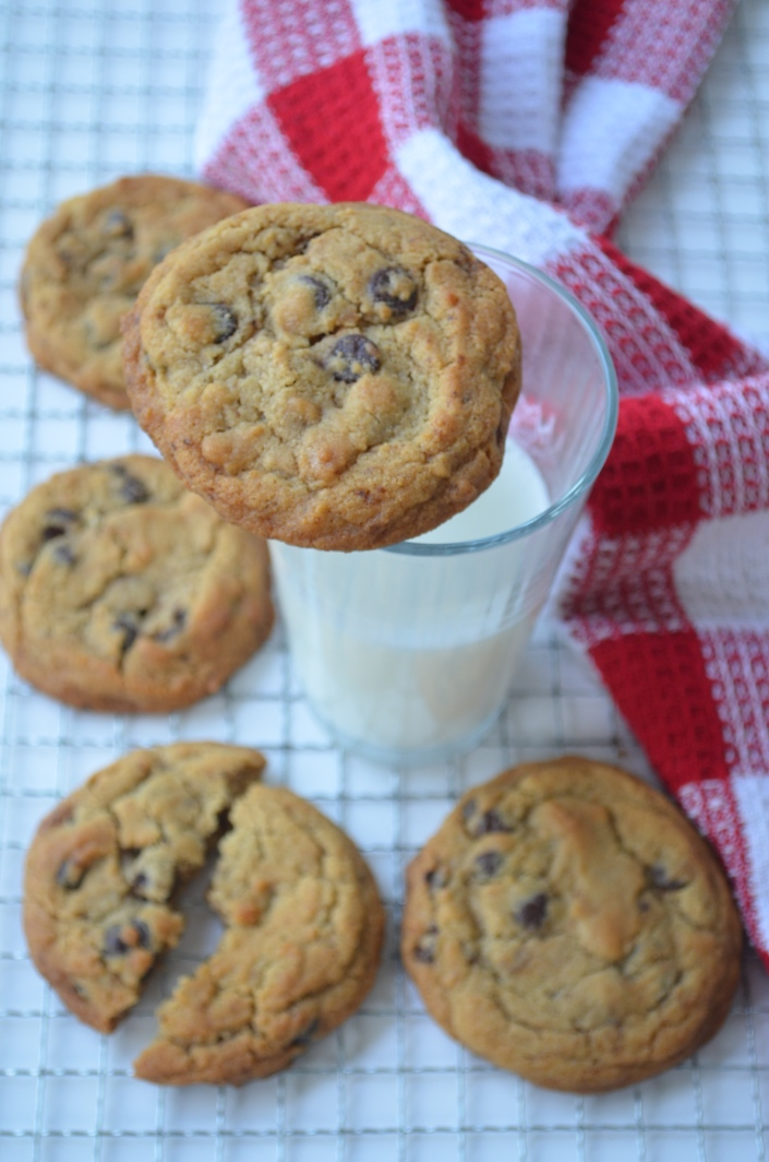 Chocolate Chip Cookie For Two