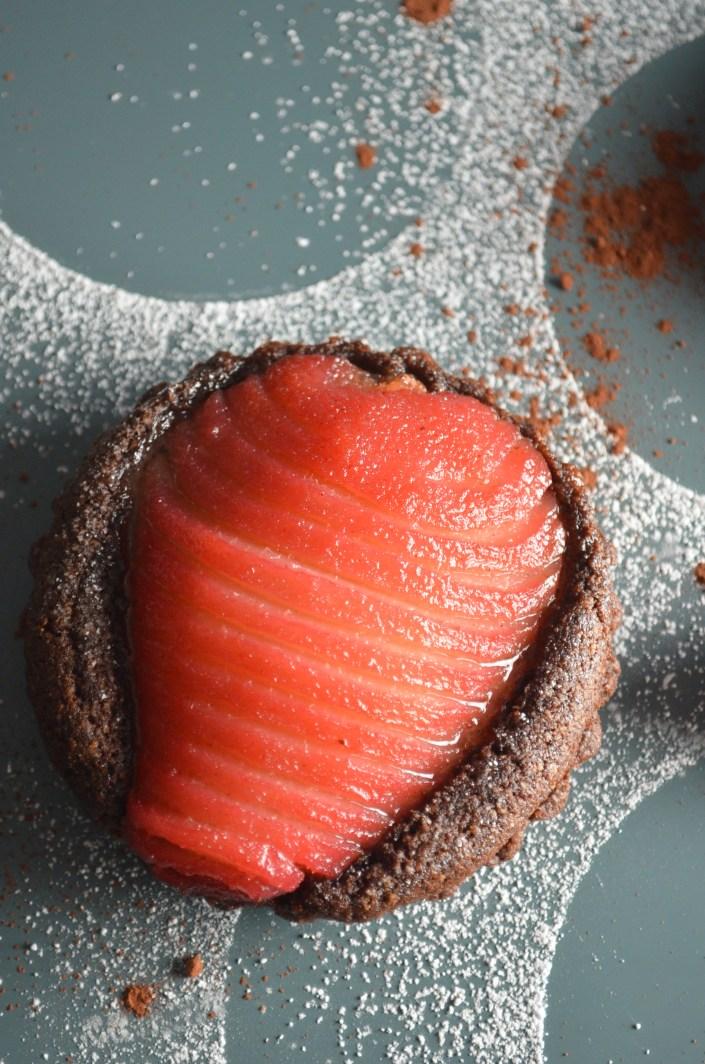Chocolate Frangipane Tart