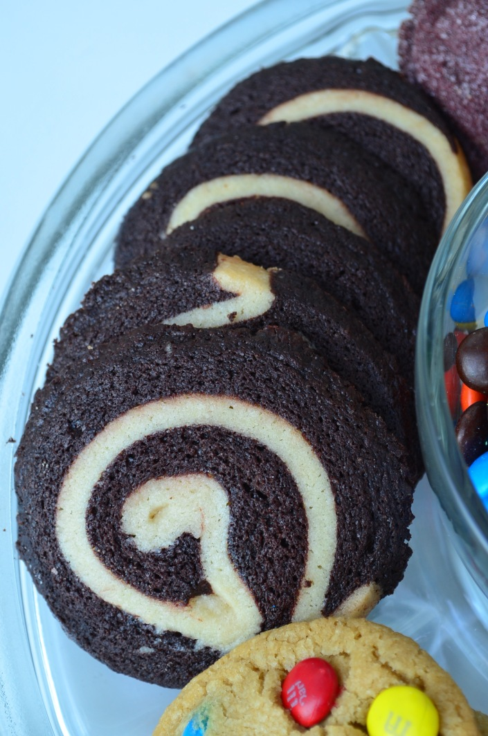 Chocolate Pinwheel Cookie