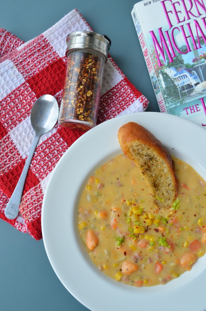 Creamy Sweet Potato and Corn Chowder