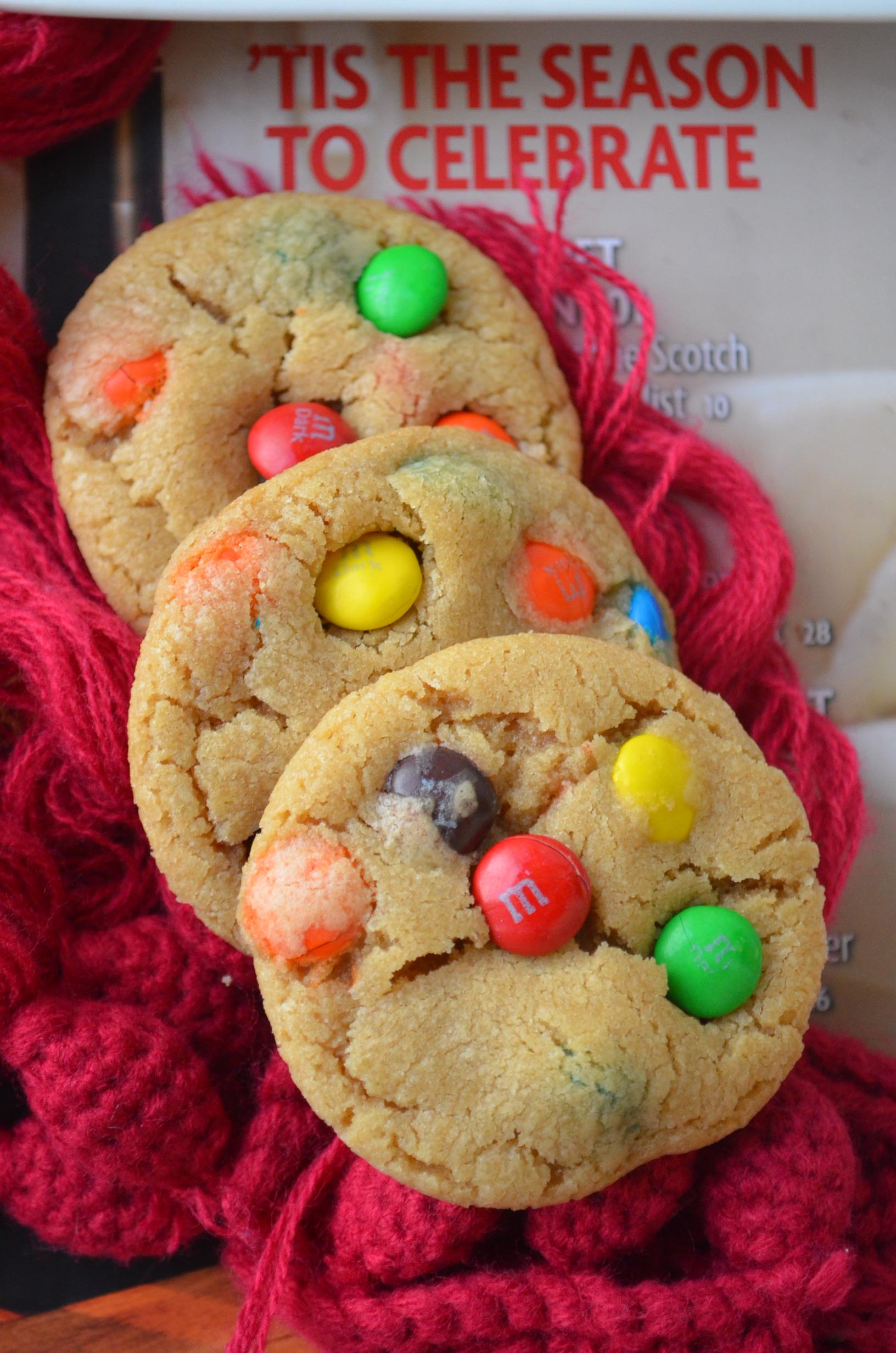 M &M CookieRecipe