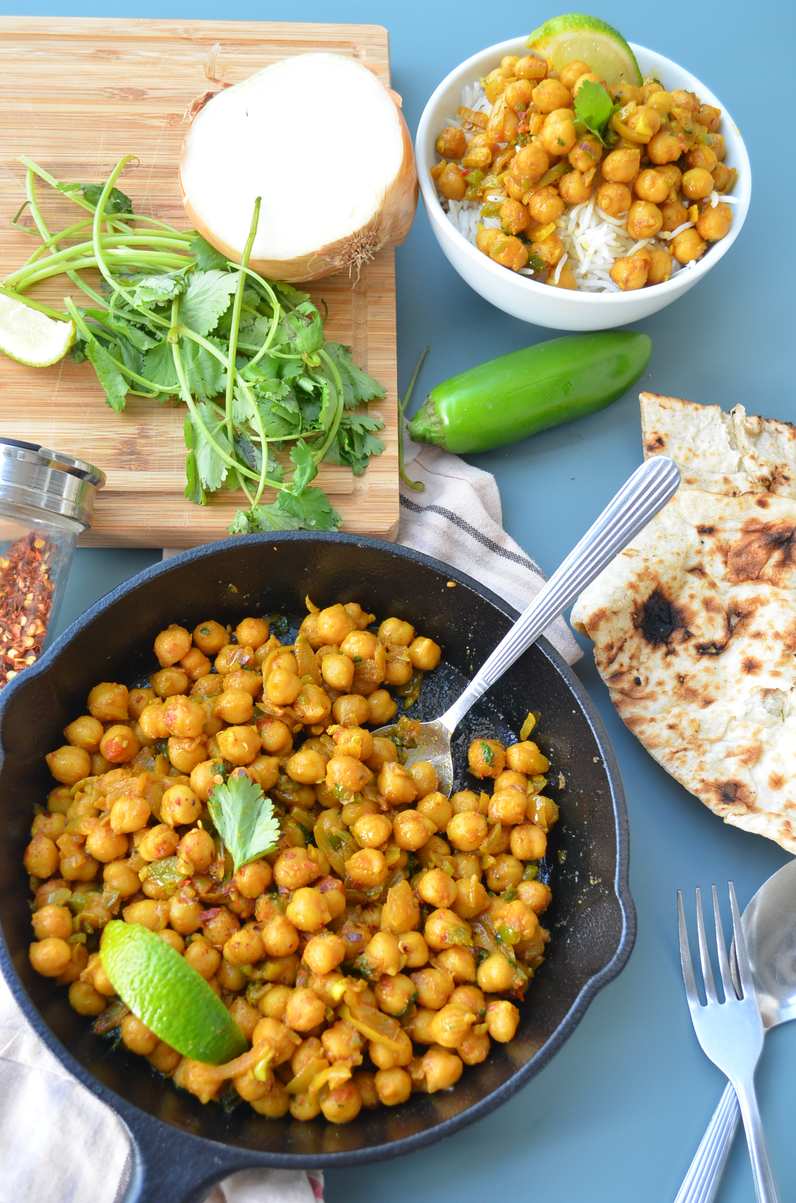 Meatless Monday Chickpea Curry Recipe