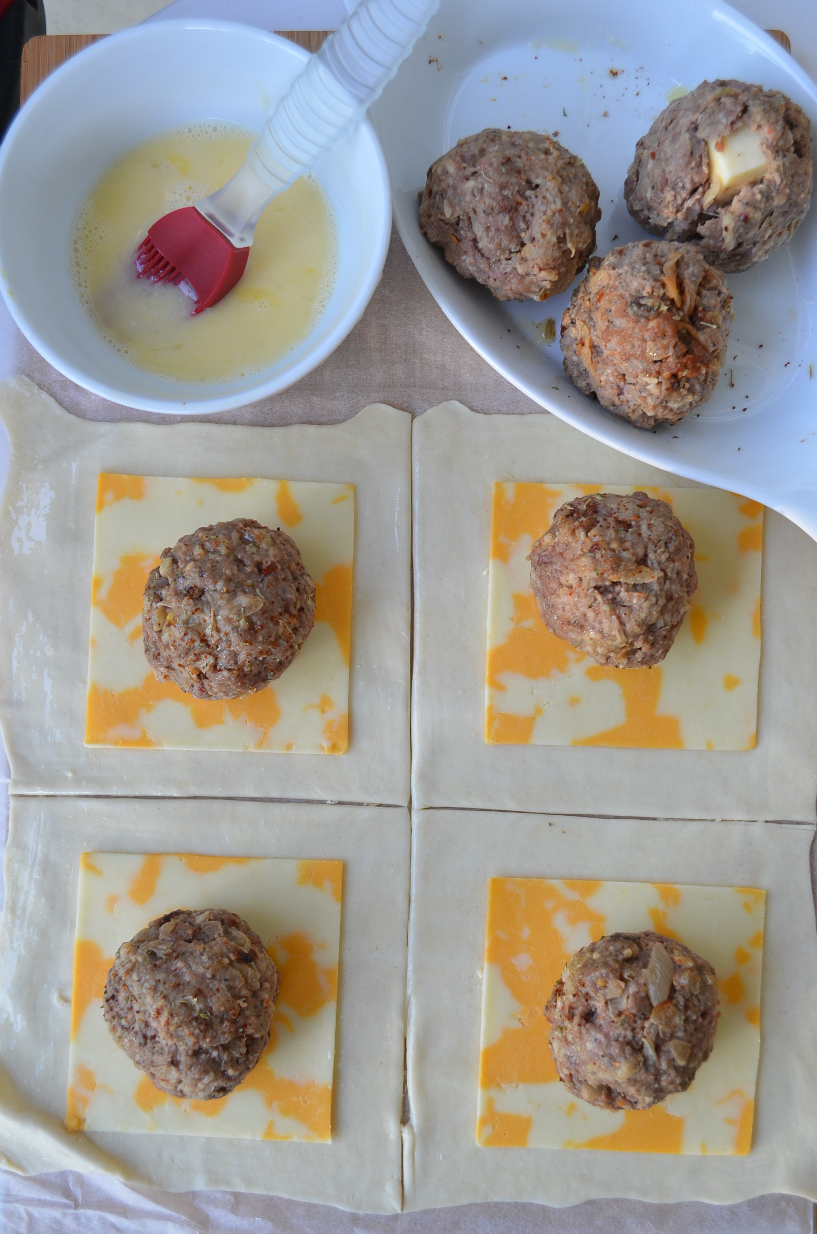 Mini Meatballs Wellington