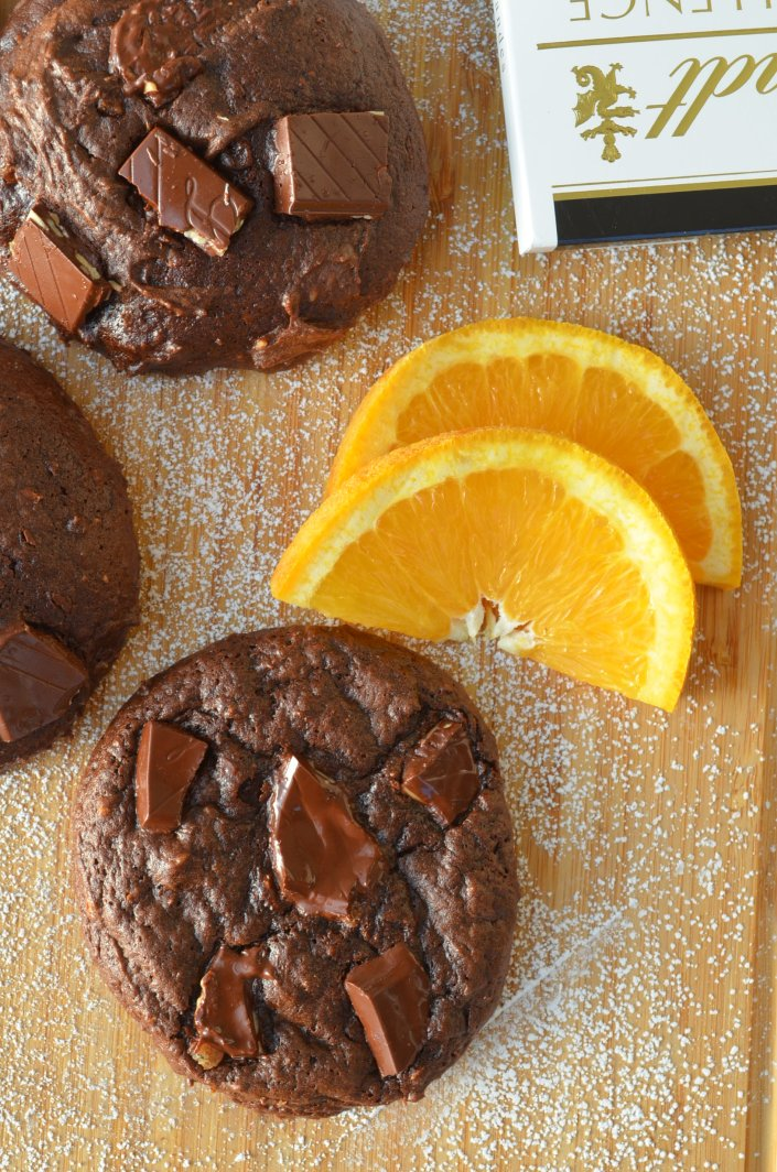 Orange Chocolate Chunk Cookie Recipe