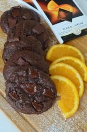Orange Chocolate Chunk Cookie