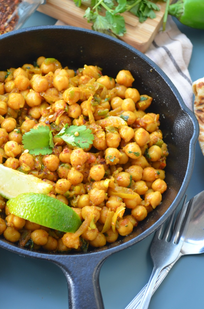 Quick Chickpea Curry Recipe