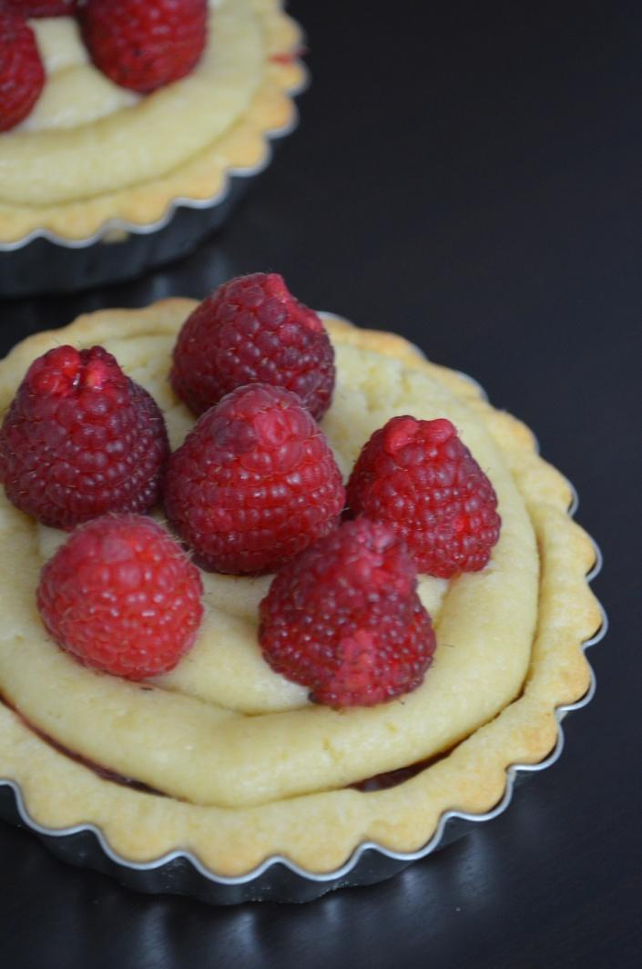Raspberry and Almond Frangipane Tart Recipe