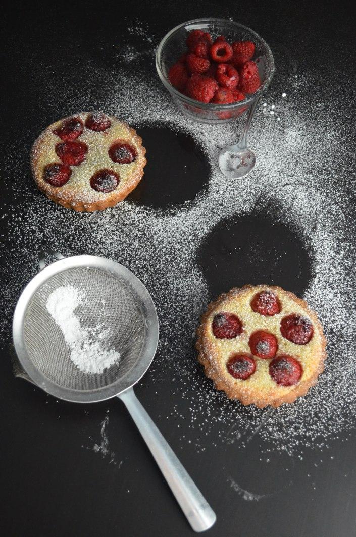 Raspberry Frangipane Tart Recipe