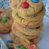 Soft and Chewy M & M CookieRecipe
