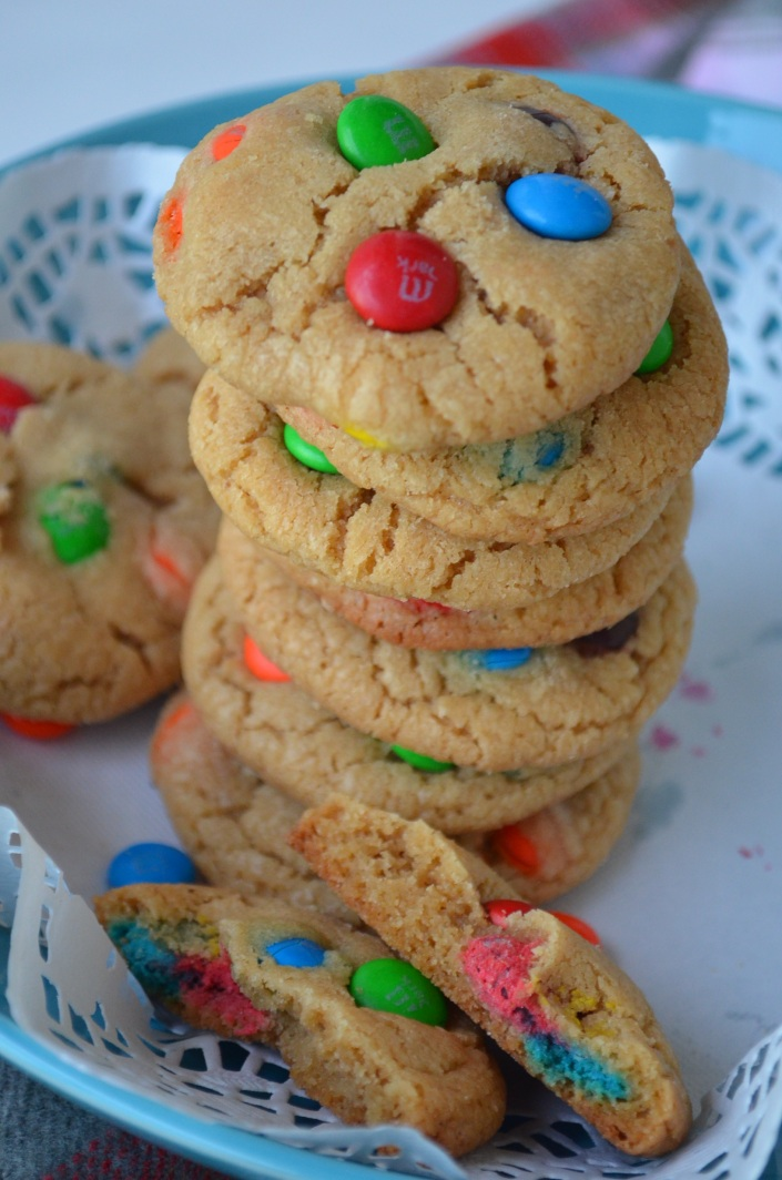 Soft and Chewy M & M Cookie Recipe