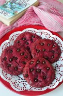 Soft and Chewy Red Vevlet Cookie