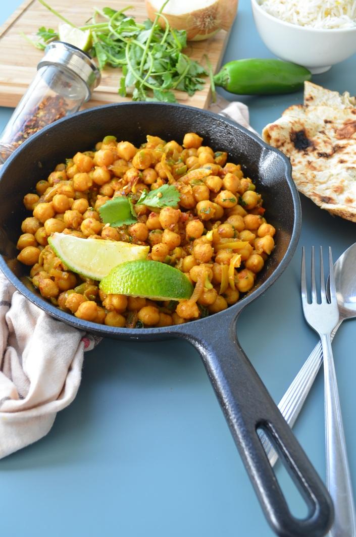 Vegetarian Chickpea Curry Recipe