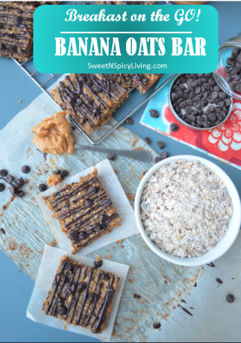 Banana Oats Bar