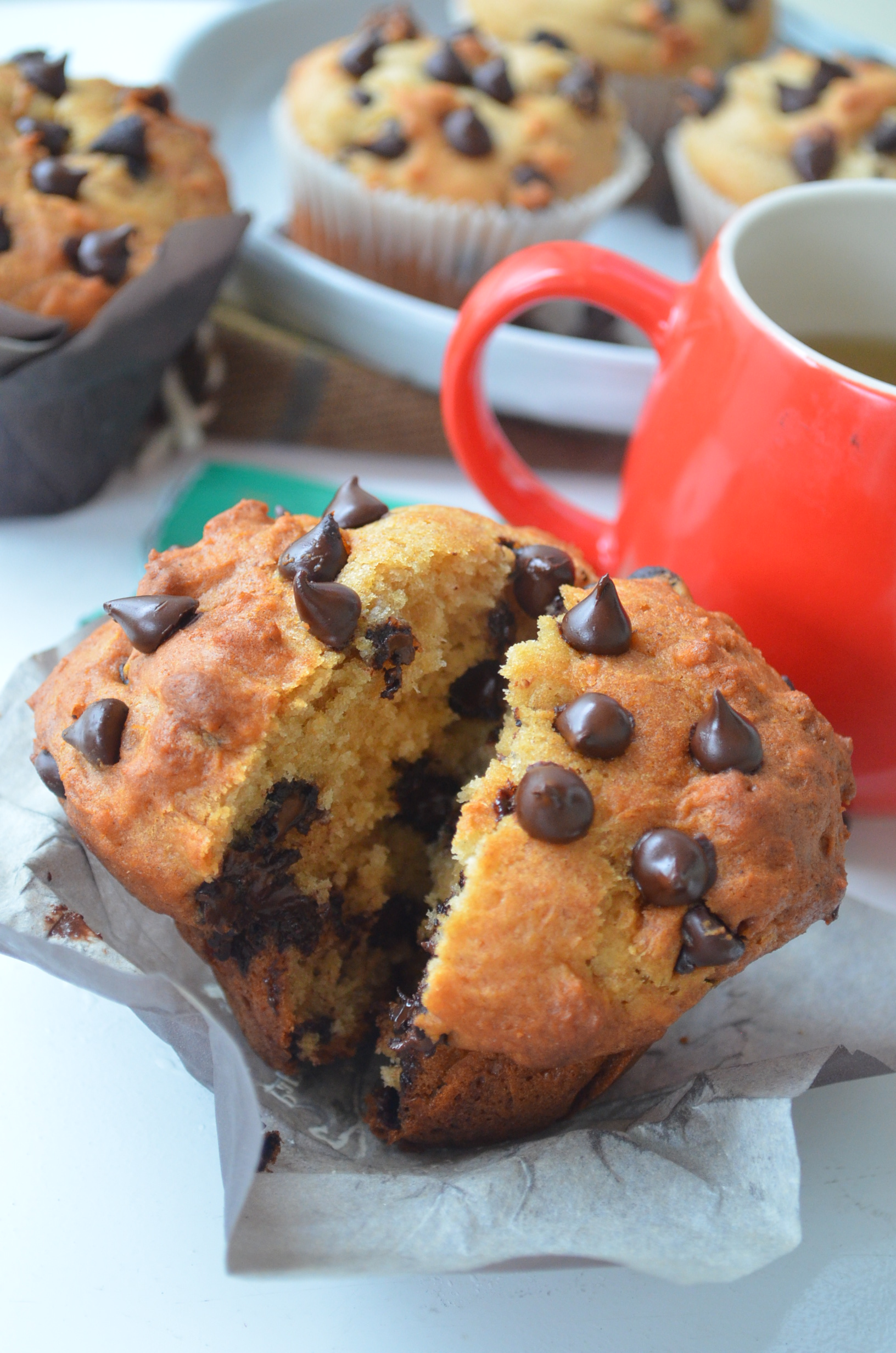 Brown Butter Chocolate Chip MUffins Recipe