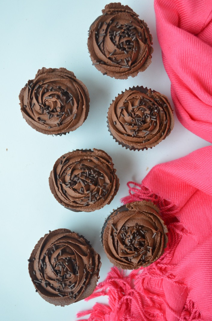 Dark Chocolate Cupcake recipe