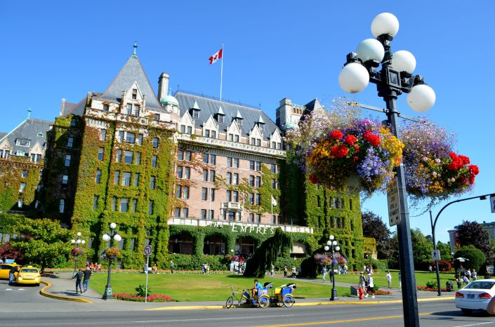 Empress Hotel Victoria BC