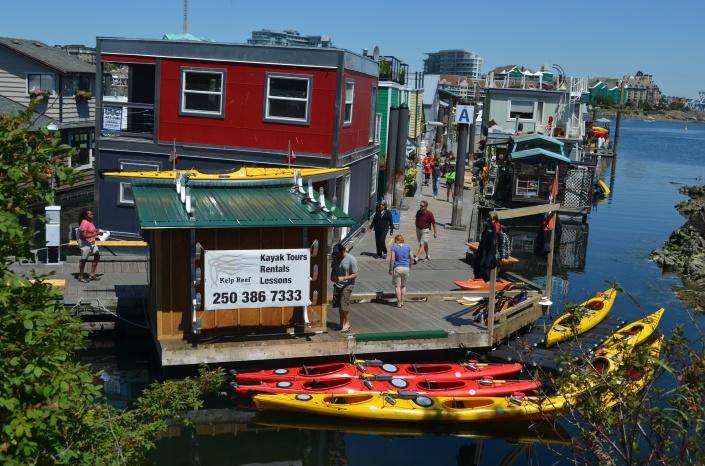 Fishermans Wharf Victoria BC Canada