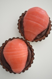 How to Make Chocolate Frangipane Tart with Poach Pear