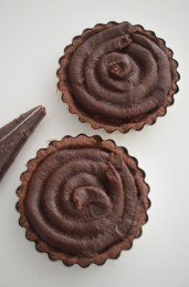How to Make Mini Chocolate Frangipane Tart