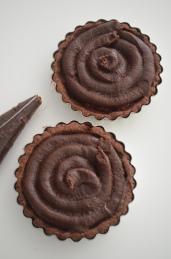 How to Make Mini Chocolate Frangipane Tart