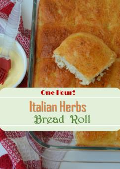 Italian Herbs Bread Rolls