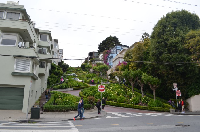 Lombard Crooked Street San Francisco USA