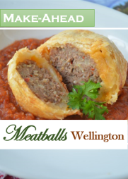 Make-Ahead Meatballs Wellington