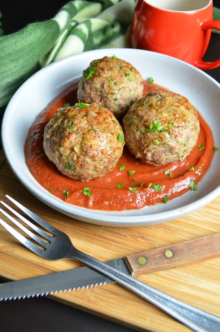 Homemade Soft and Juicy Meatballs