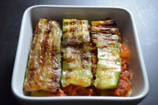 Meatless Lasagna Recipe at SweetNSpicyLiving.com