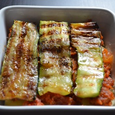Meatless Lasagna Recipe at SweetNSpicyLiving.com